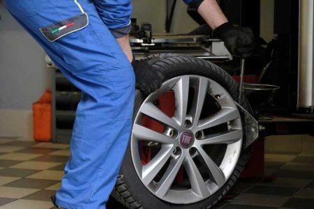 sostituzione pneumatici a domicilio